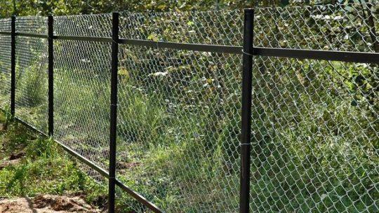 Забор из сетки-рабицы – преимущества и недостатки