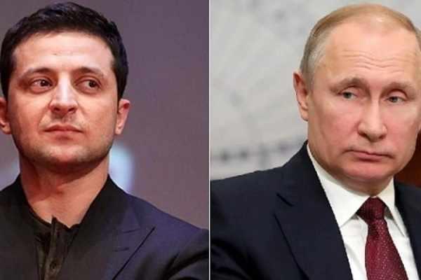 Зеленский заявил Путину, что РФ и Украину объединяет только граница