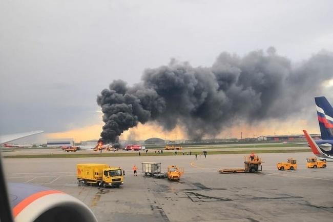 В результате пожара в самолете в аэропорту Шереметьево погиб 41 человек