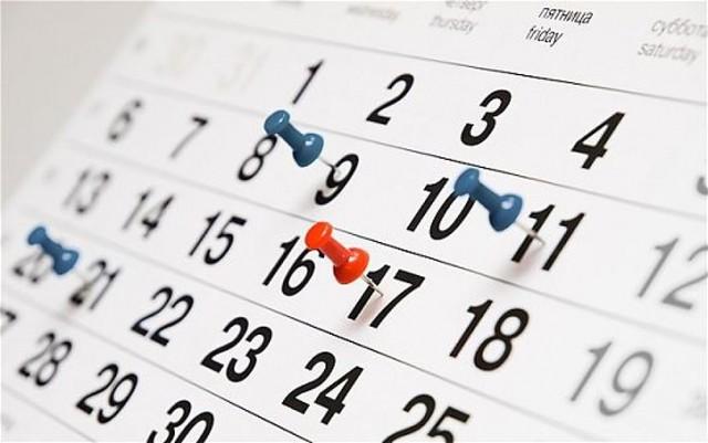 Опубликован график праздничных дней в 2020 году