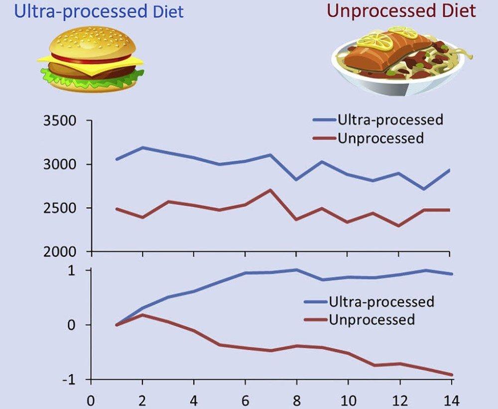 Ученые выяснили, какая еда приводит к набору веса при той же калорийности