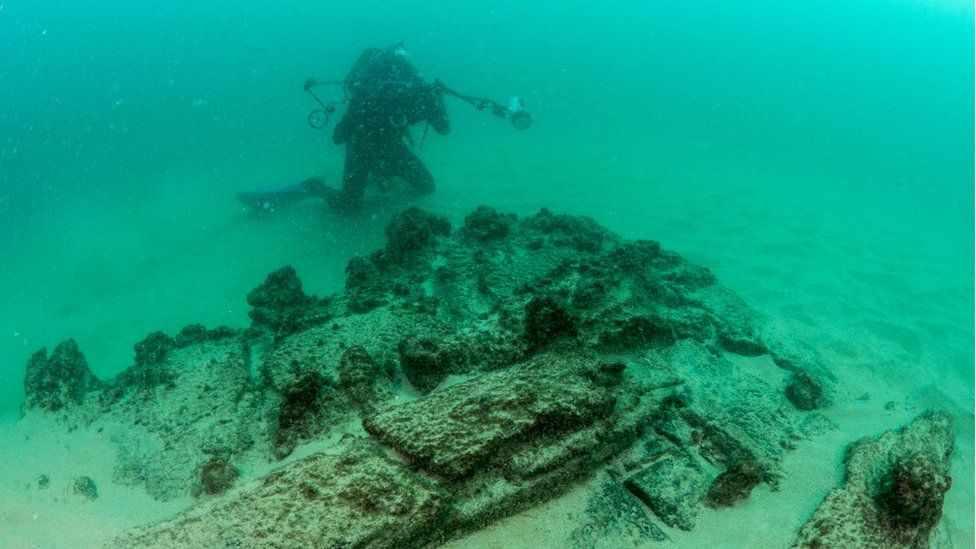 Обнаружен затонувший доисторический мир