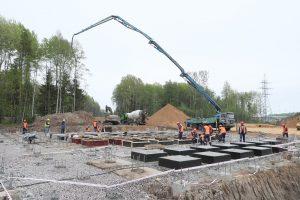 К августу в Белоострове построят путепровод над переездом, вызывающим пробки