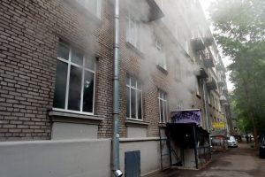 В детском саду на улице Орбели произошёл пожар. Пострадавших нет