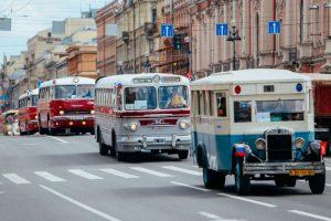 Петербуржцы смогут увидеть настоящее «зеленоглазое такси» на параде ретро-транспорта