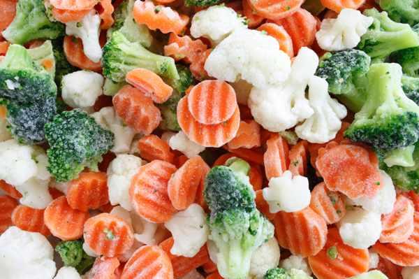 Замороженные фрукты и овощи оказались полезнее свежих