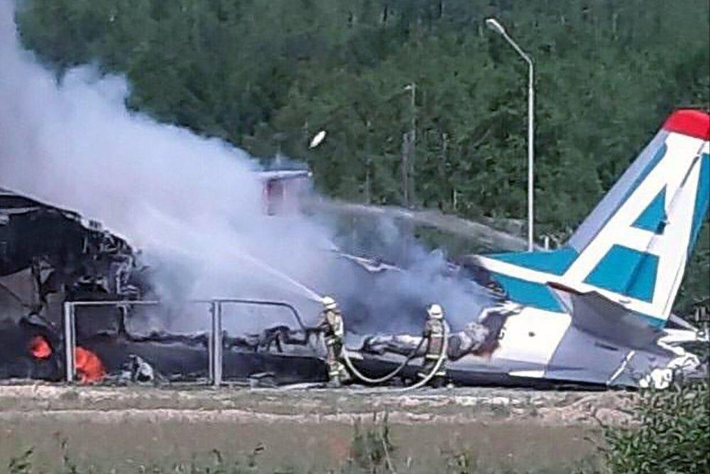 Пассажирский самолет потерпел крушение в Бурятии: Есть погибшие (Видео)