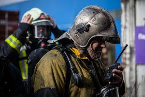 За ночь в Петербурге произошло несколько серьёзных пожаров