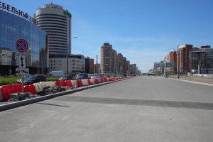 Беглов потребовал достроить участок Богатырского проспекта к сентябрю