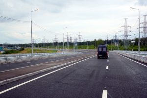 Открыто рабочее движение по Усть-Ижорскому шоссе