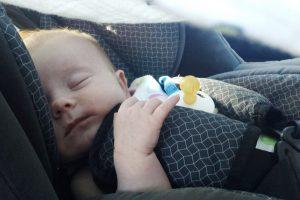 Очевидцы: в Колпинском районе в кустах нашли младенца