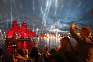 Праздник «Алые паруса» собрал более 1,4 млн человек