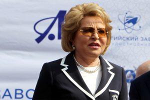 Валентина Матвиенко согласилась остаться в Совете Федерации