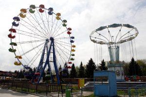 В столичном парке Сокольники дети пострадали после падения с аттракциона