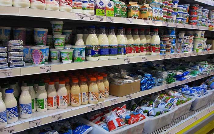 В магазинах России вводятся новые правила продажи молочных продуктов