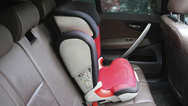 Изменились правила перевозки детей в автомобилях