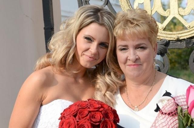 Екатерина Федяева с мамой Галиной Барышниковой.