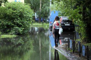 Днём в Петербурге снова ожидается дождь