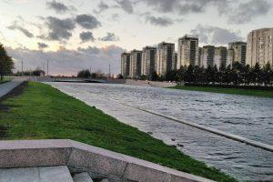 С петербуржцами посоветуются об устройстве Новосмоленской набережной