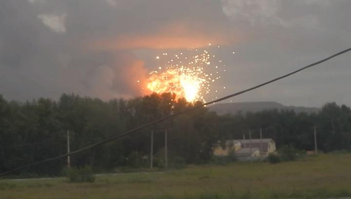 Гриб до небес: из окрестностей Ачинска эвакуируют 11 тысяч человек