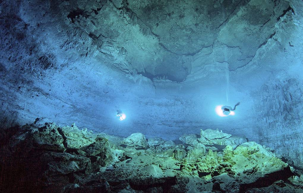Подводные археологи нашли главный храм