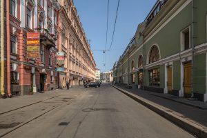 «Пьяные» Думская и Ломоносова по выходным стали пешеходными