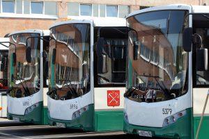 Петербургский общественный транспорт очистят от рекламы в 2020 году