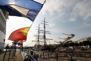 В Петербург прибыл парусник «Руаль Амундсен»