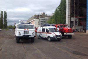 При пожаре на судостроительном заводе в Нижнем Новгороде погибли люди