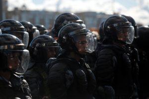 На согласованный митинг в Москве пришли 20 тыс. человек — МВД