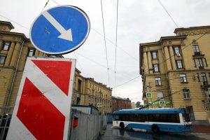 Из-за футбольного матча в Петербурге ограничат движение транспорта