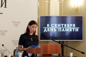 В Петербурге вывесили списки погибших во время блокады