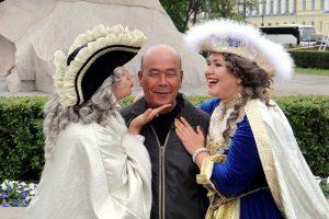Больше всего туристов и иностранных студентов приезжают в Петербург из Китая