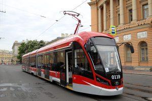 Один из петербургских трамвайных маршрутов начал работу «как метро»