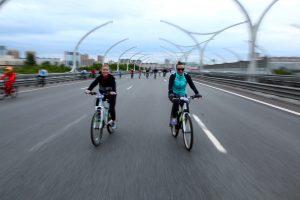Петербуржцы снова поедут на работу на велосипеде