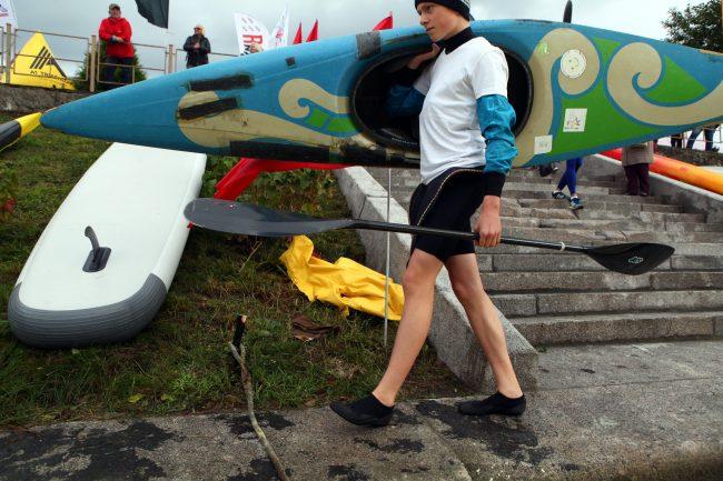Очистить воду вёслами: на Охте прошли первые состязания по гребле