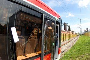 ДТП на Дальневосточном проспекте остановило движение трамваев