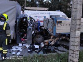 В столкновении со стоящим грузовиком на Кубинской улице погиб водитель