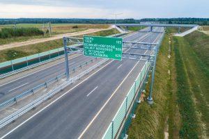 В Ленобласти открыт новый участок скоростной трассы М-11