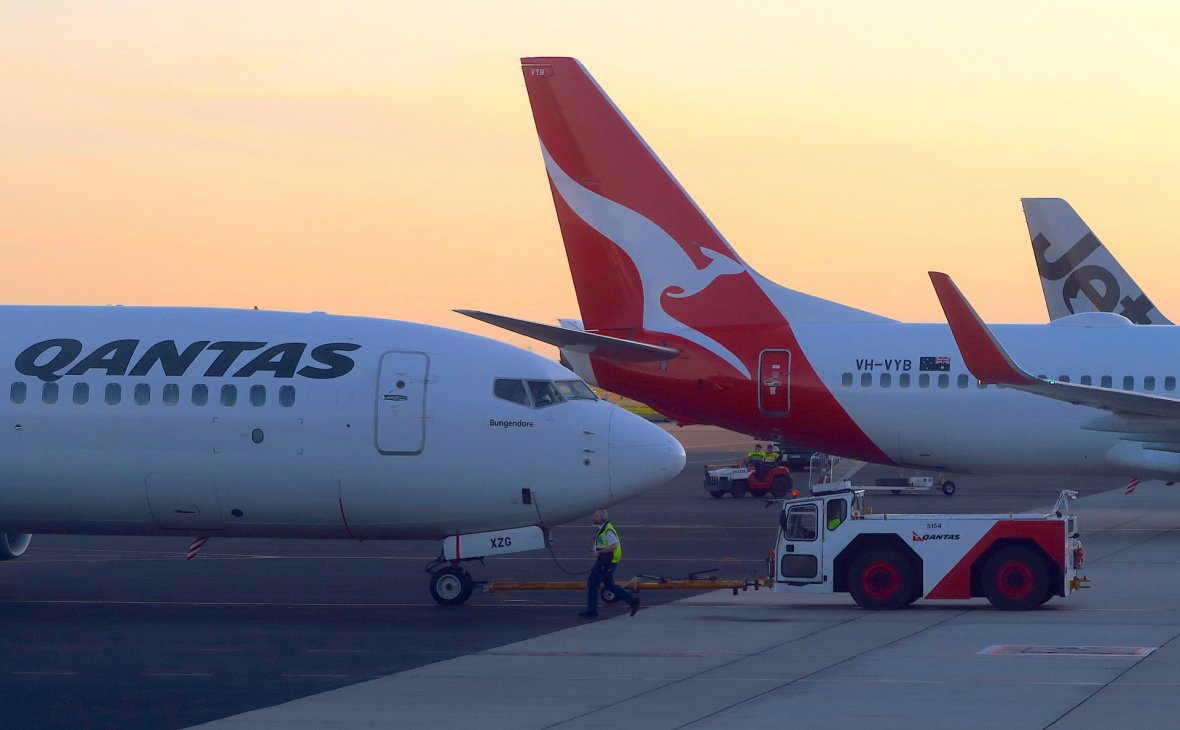 Самолет австралийской авиакомпании побил рекорд беспосадочного перелета