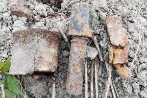В кладовке квартиры в Московском районе нашли гранату времён ВОВ