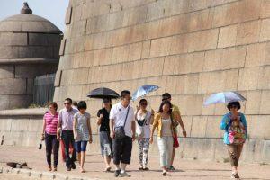 Петербург по электронным визам посетили уже 14 тысяч человек