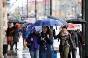 В субботу в Петербурге ожидаются дожди и ветер