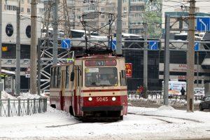 У «Новочеркасской» встали трамваи — очевидцы