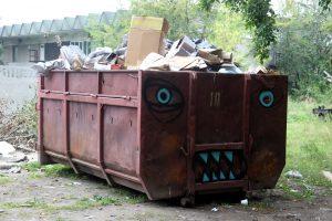 В Аннино закрыли незаконную свалку