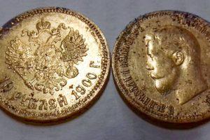 В Пушкине форточник стащил из квартиры царскую монету XIX века