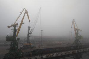 Атлантический циклон принёс в Петербург туман