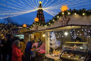 Рождество неизбежно: на Манежной площади заработала новогодняя ярмарка