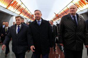 Губернатор рассказал о задержке открытия станций Фрунзенского радиуса