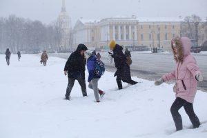 Синоптик: Петербург сегодня будет под влиянием циклона